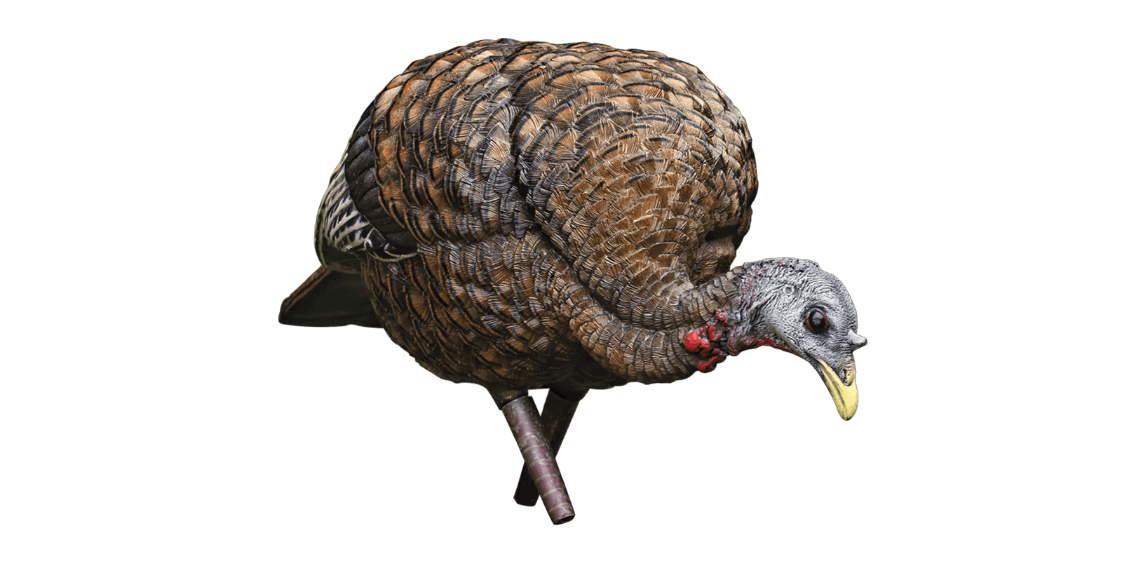 4250e9b9a379f The LCD Feeder Hen draws gobblers in close to set up the perfect kill shot.  As the gobbler gets closer, the LCD Feeder's ultra-detailed paint schemes  with ...